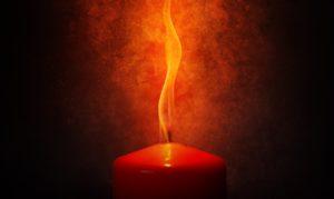 Mágia červenej sviečky